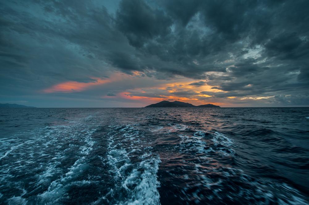 Isla Giglio Sunset