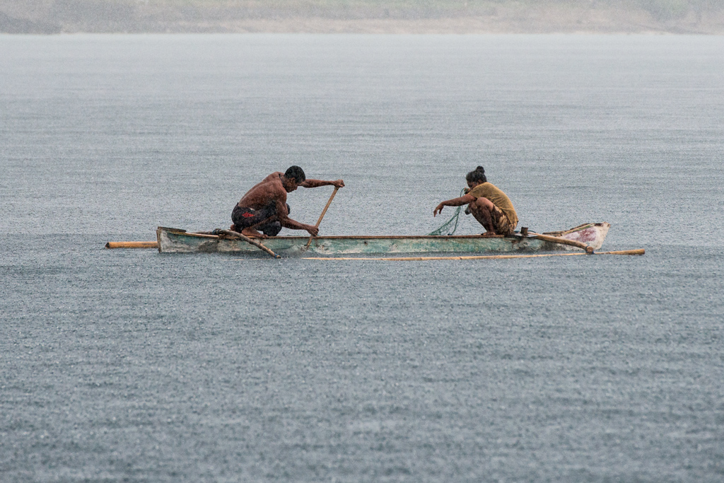 Indonesian Fishing Couple