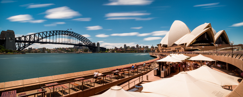 Sydney-Opera-House-and-Harbour-Bridge-Daytime-Pano