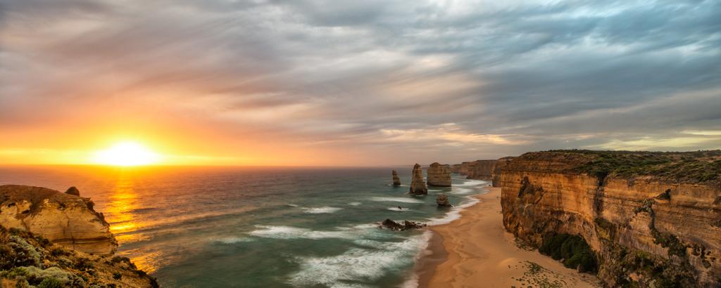 Twelve-Apostles-at-Sunset-Pano
